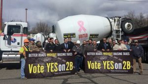 Grand Junction Area Chamber of Commerce Photo of Vote Yes on 2B Press Conference