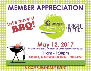 Membership Appreciation BBQ May 12, 2017 11:00 AM - 1:30 PM