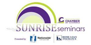 Grand Junction Area Chamber of Commerce Sunrise Seminar Logo