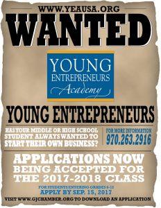 YEA! Students Wanted