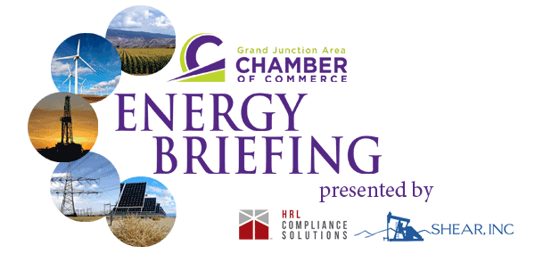 Grand Junction Area Chamber of Commerce Energy Briefings Logo