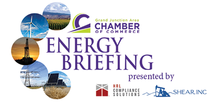 Grand Junction Area Chamber of Commerce 2018 Energy Briefing email logo
